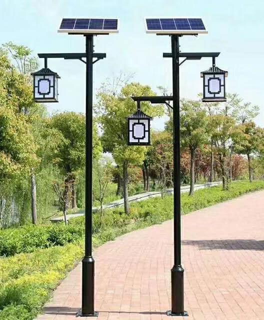 太阳能庭院灯7