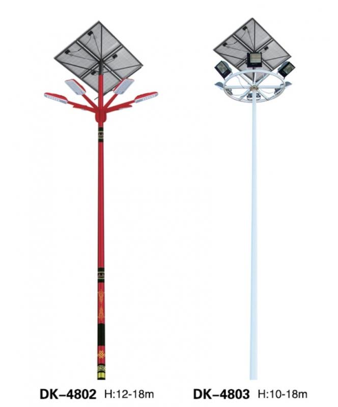 led太阳能路灯应确保太阳能电池杆的安全