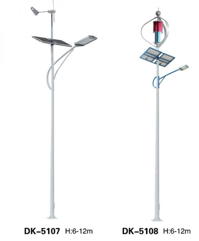 led太阳能路灯使用的材料
